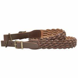 Bisley Leather Plaited Rifle Sling