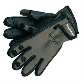 MGL0003GN11 Barbour Neoprene Gloves Green