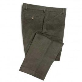 Hoggs of Fife Monarch Moleskin Trousers Olive