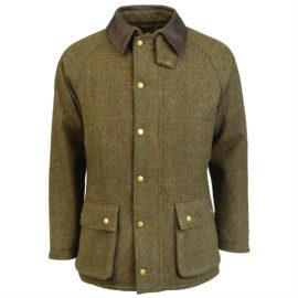 MWO0210 Barbour Tweed Gamefair Jacket Olive