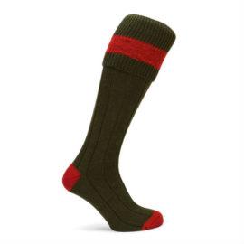 Pennine D579 Byron Olive Socks