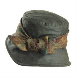 Olney Nancy Wax & Tweed Bow Hat