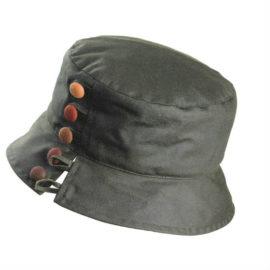 Olney Olivia Wax Hat Olive