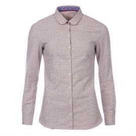 LSH0898PU72 Barbour Ladies Sinderhope Huckleberry Shirt (1)