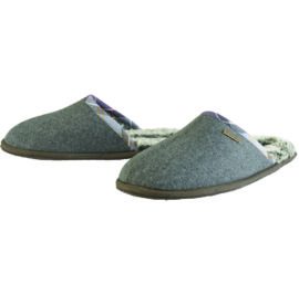 LFO0108GY71 Barbour Leigh Slippers Grey