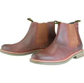 MFO0244TA71 Barbour Farsley Dark Tan Boots
