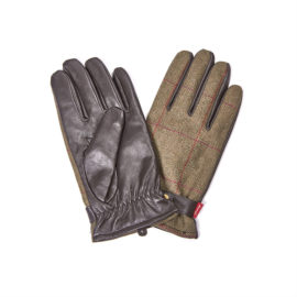 MGL0044GN52 Barbour Country Tweed Gloves (1)