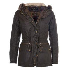 lwx0303ol71 Barbour Kelsall Wax Jacket Olive