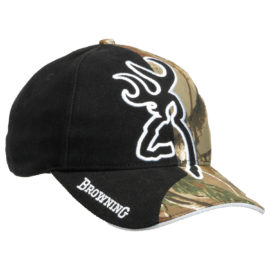 Browning Big Buck Mark Camo Baseball Cap