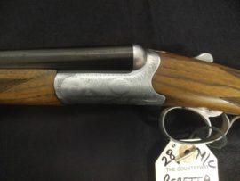 Beretta 486 Parrallelo 28 Bore Shotgun Close Up