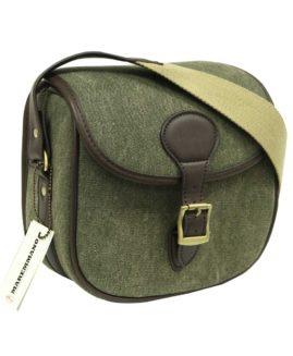 Maremmano Canvas & Leather Shotgun Cartridge Bag