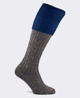 Pennine Defender Shooting Socks - Sapphire