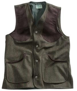 Harewood Men's Lambswool Tweed Shooting Vest