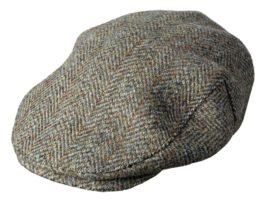 Harris Tweed Mens' Cap (p38)
