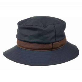 Olney Wax Spey Hat Navy