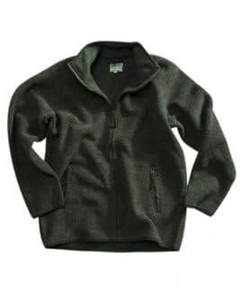 Hoggs of Fife Milton Tufted Green Fleece Jacket