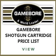Gamebore Shotgun Cartridges Price List