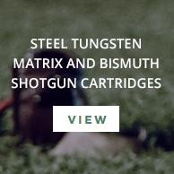 Steel Tungsten Matrix Shotgun Cartridges