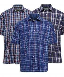 Champion Whitby Men's Short Sleeve Check Shirt
