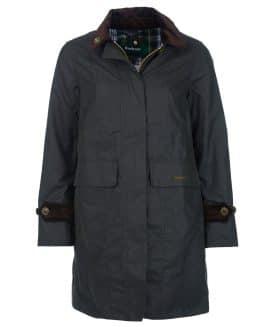 Ladies Barbour Icons Haydon Waxed Jacket
