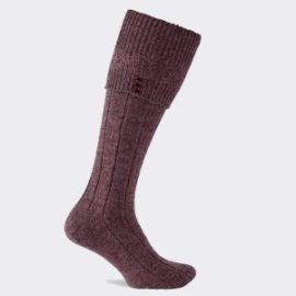 Pennine Mulberry Sheep Soft Sock