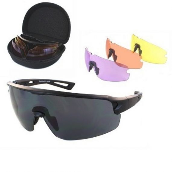 evolution velocity shooting glasses set 4